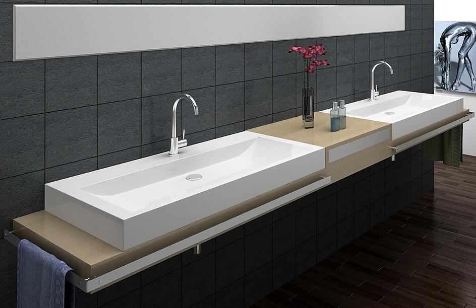 lux aqua design luxus waschbecken aufsatzwaschbecken eckig. Black Bedroom Furniture Sets. Home Design Ideas