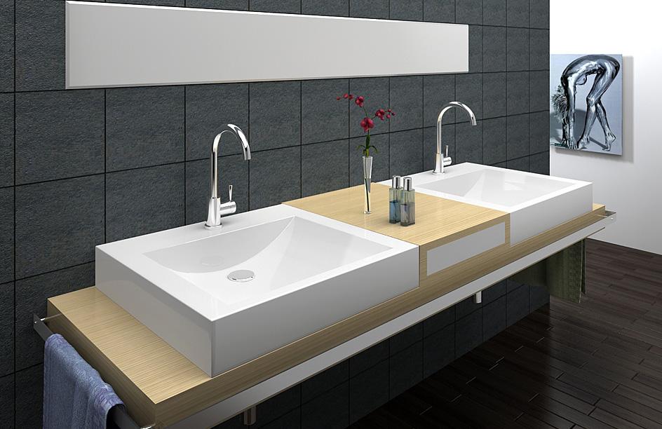 lux aqua design exklusiv aufsatz waschbecken waschtisch guss marmor 6911 ebay. Black Bedroom Furniture Sets. Home Design Ideas