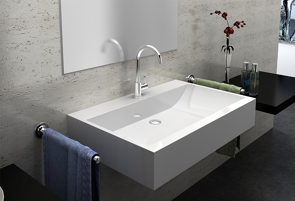 lux aqua design luxus waschtisch guss marmor waschbecken. Black Bedroom Furniture Sets. Home Design Ideas