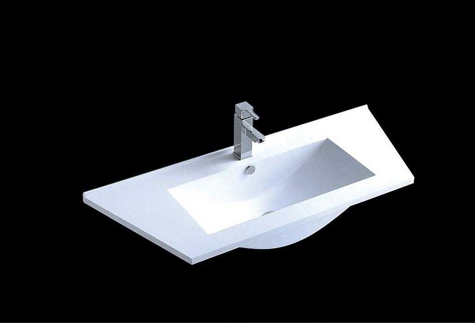 lux aqua waschtisch waschbecken guss marmor sq101042f. Black Bedroom Furniture Sets. Home Design Ideas