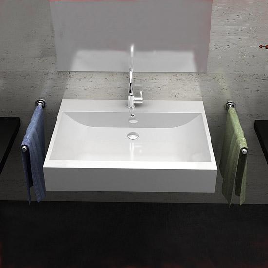 waschtisch guss marmor waschbecken wandmontage sq101061 ebay. Black Bedroom Furniture Sets. Home Design Ideas