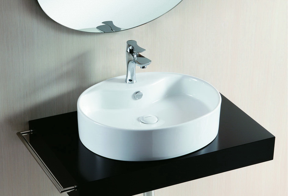 lux aqua design waschtisch waschbecken keramik aufsatzbecken oval 4031 ebay. Black Bedroom Furniture Sets. Home Design Ideas