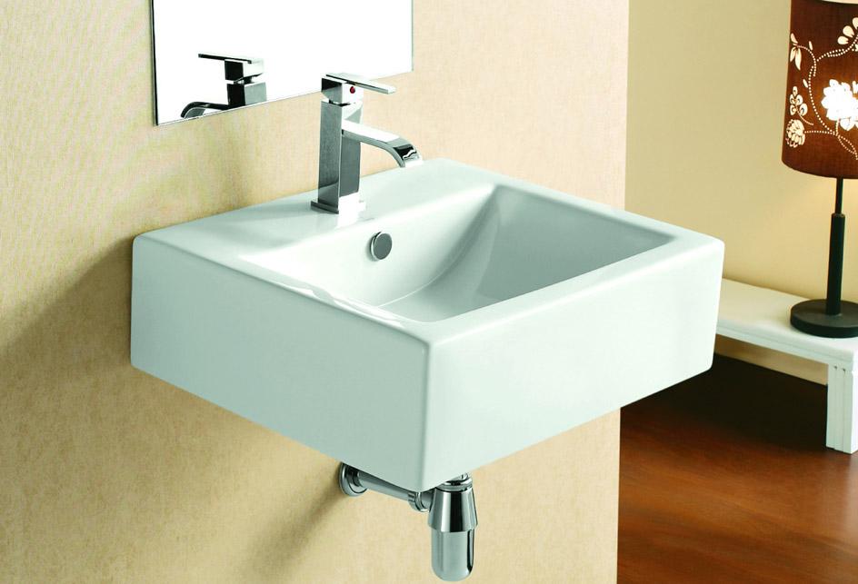 badm bel waschtisch waschbecken zur wandmontage 4034. Black Bedroom Furniture Sets. Home Design Ideas