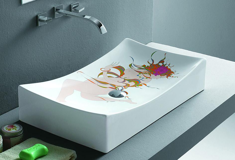 Artikel im Lux-aqua-Shop bei eBay! | {Waschbecken design eckig 90}