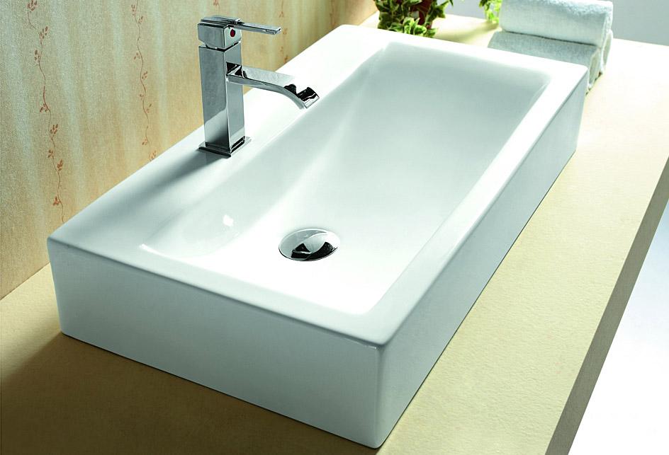 lux aqua waschtisch waschbecken zur wandmontage 4310 ebay. Black Bedroom Furniture Sets. Home Design Ideas