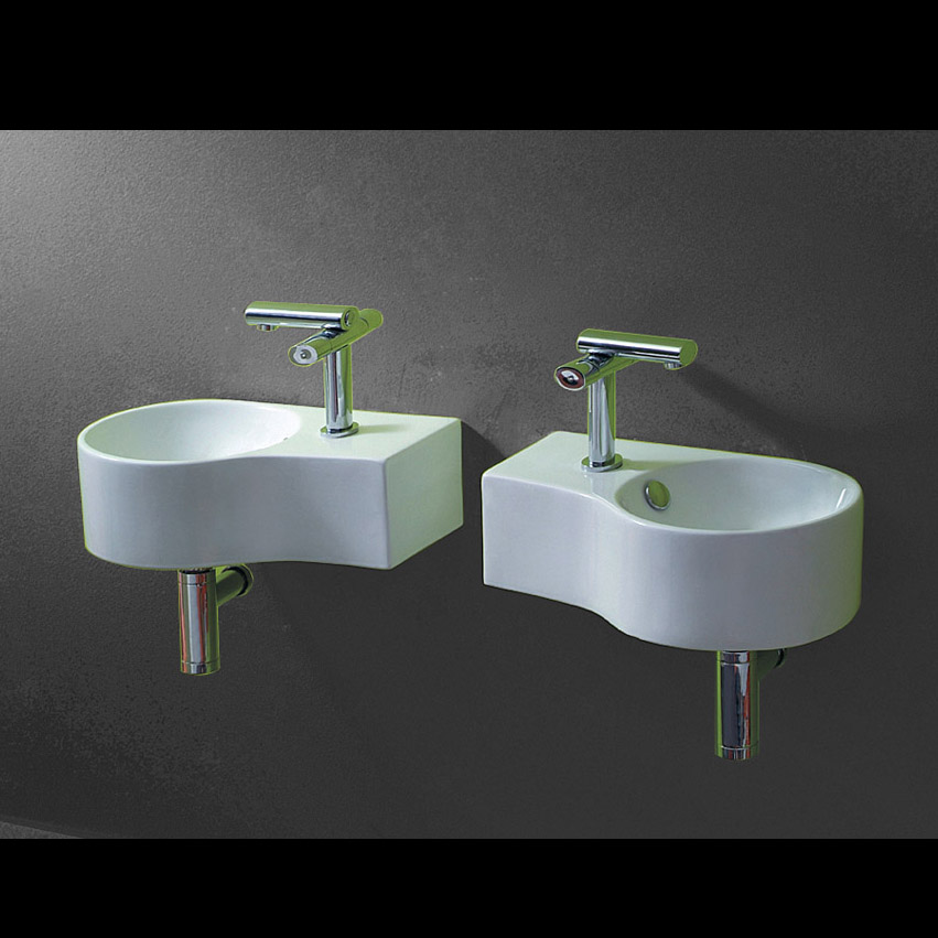lux aqua g ste wc waschbecken zur wandmontage l r 4506 ebay. Black Bedroom Furniture Sets. Home Design Ideas