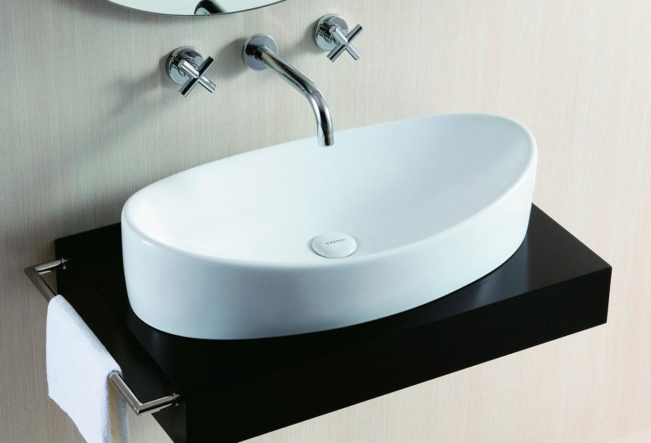 lux aqua design waschtisch waschbecken keramik aufsatzbecken oval 4898 ebay. Black Bedroom Furniture Sets. Home Design Ideas