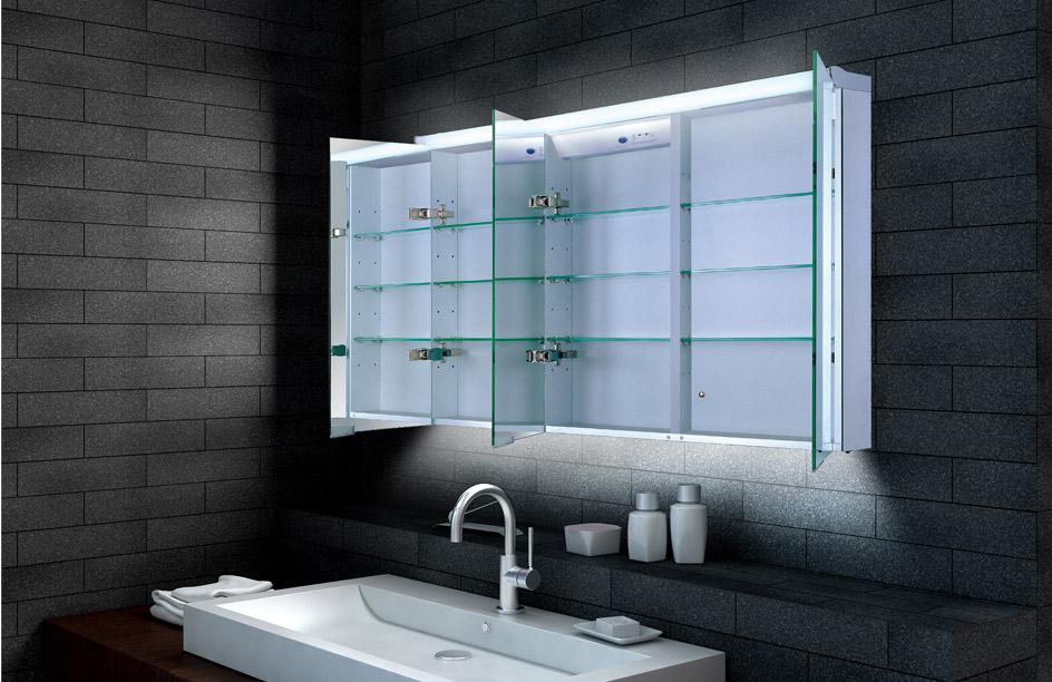 Lux aqua alu badezimmer spiegelschrank bad led beleuchtung - Lux aqua spiegel ...