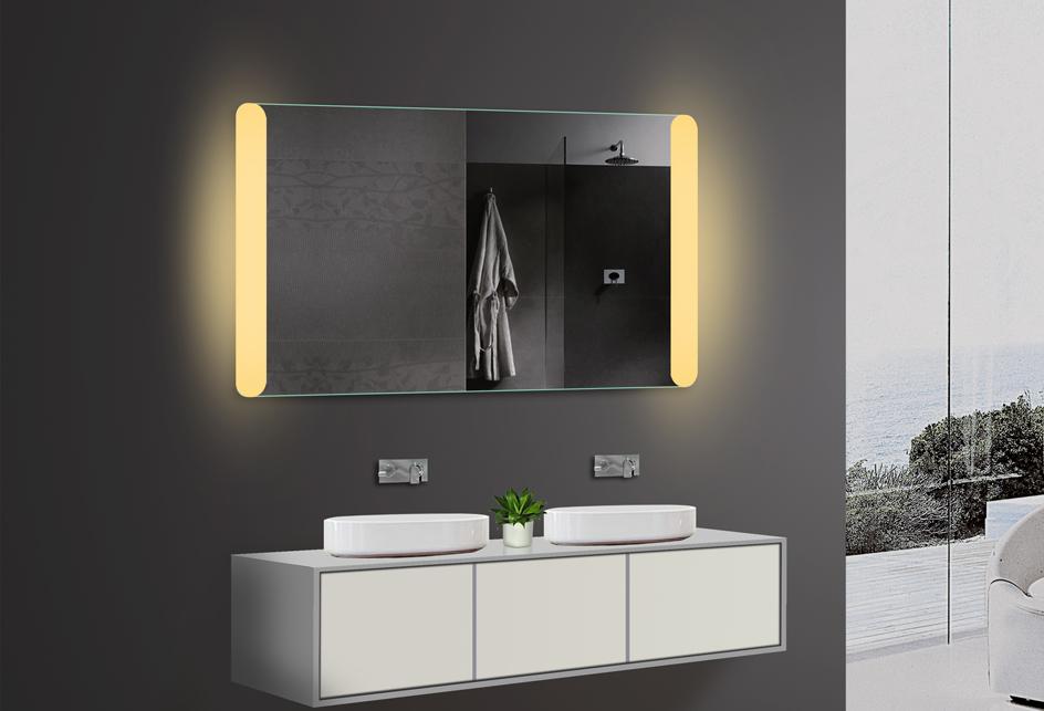 lux aqua badezimmerspiegel led. Black Bedroom Furniture Sets. Home Design Ideas