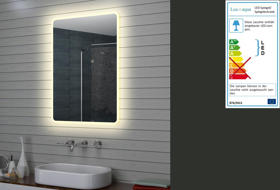 Design led badezimmerspiegel badspiegel - Lux aqua spiegel ...