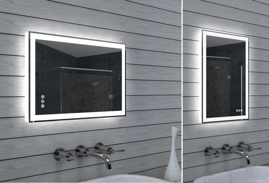 Lux aqua design badezimmerspiegel - Lux aqua spiegel ...