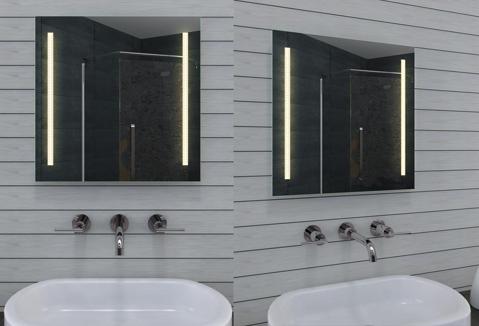 Neu design badezimmerspiegel mit led for Badezimmerspiegel design