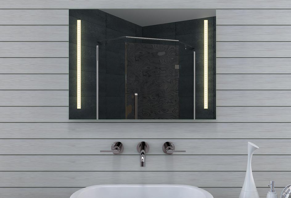Lux aqua design badezimmerspiegel mit - Lux aqua spiegel ...