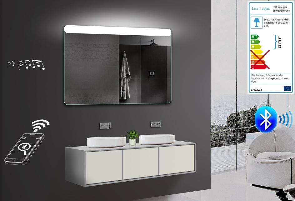 Badezimmerspiegel wandspiegel led warm for Spiegel einstellen