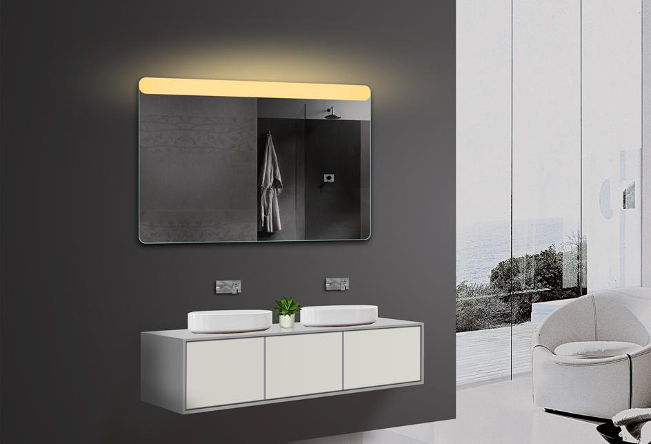badezimmerspiegel wandspiegel led warm. Black Bedroom Furniture Sets. Home Design Ideas