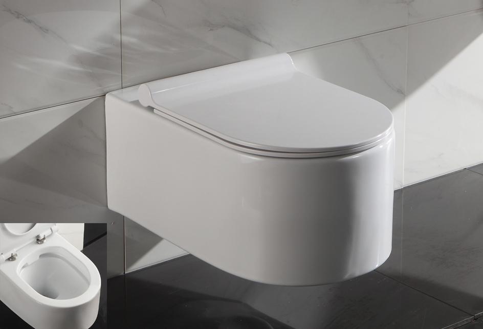 sp lrandloses wand h nge wc sp lrandlos toilette mit softclose wc sitz str2044a. Black Bedroom Furniture Sets. Home Design Ideas