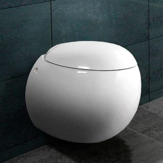 h nge wc wand wc inkl nano beschichtung b2301 ebay. Black Bedroom Furniture Sets. Home Design Ideas