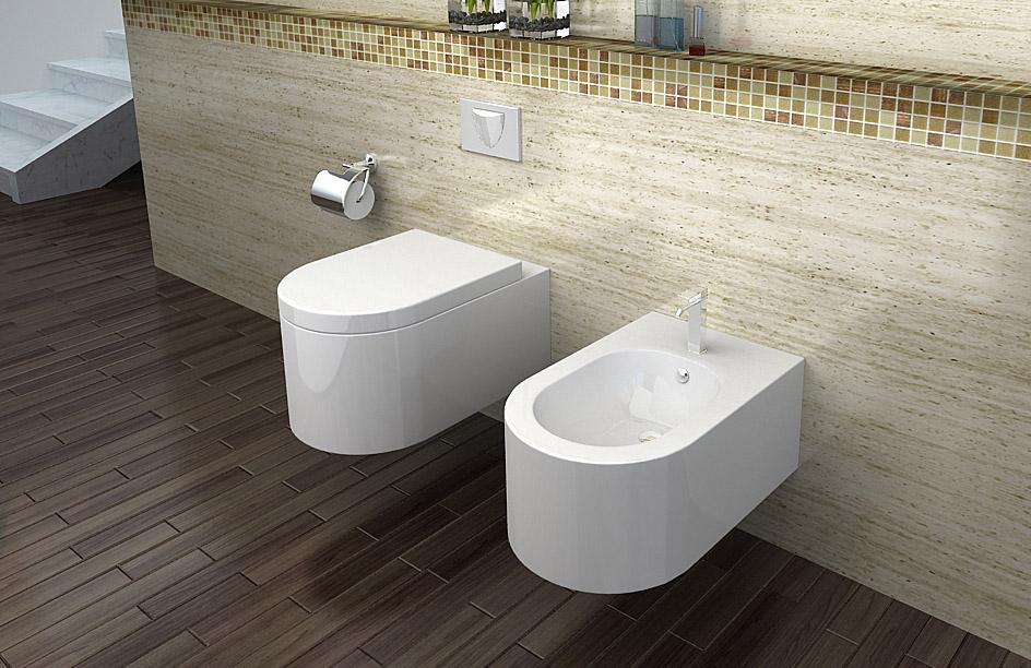 lux aqua luxus wand h nge wc toilette inkl wc sitz soft close ct2044a. Black Bedroom Furniture Sets. Home Design Ideas