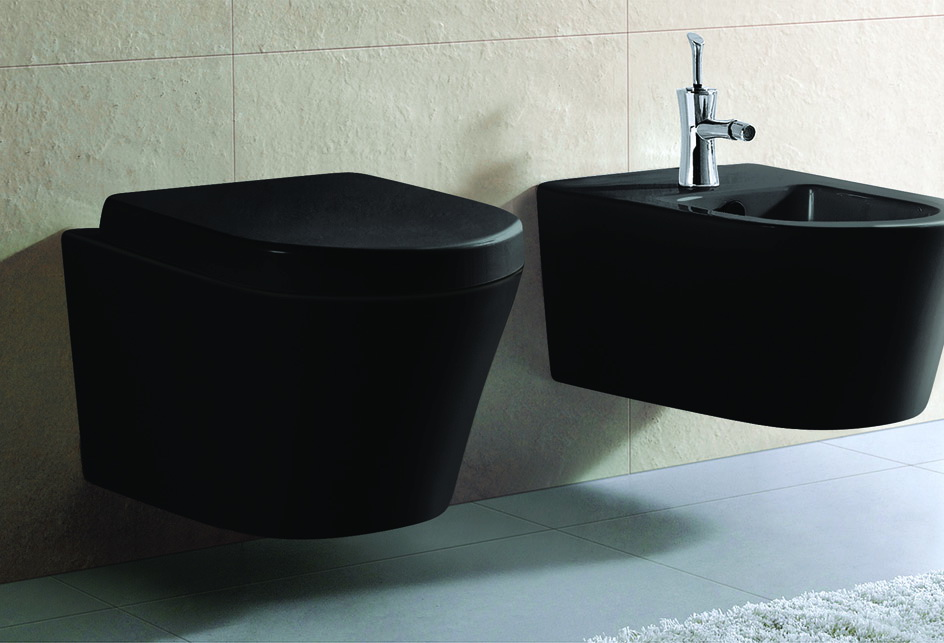 designer h nge wc keramik schwarz mit sitz soft close aus duroplast ct2155 18 ebay. Black Bedroom Furniture Sets. Home Design Ideas