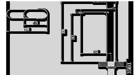 waschtisch arma tur neben das waschbecken mit neoperl perlator gr16u47c ebay. Black Bedroom Furniture Sets. Home Design Ideas