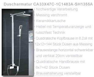 lux aqua design orig unterputz duscharmatur kopfbrause 2404a vm34k13c ebay. Black Bedroom Furniture Sets. Home Design Ideas