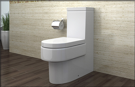 lux aqua stand wc mit nano beschichtu ng softclose a391 ebay. Black Bedroom Furniture Sets. Home Design Ideas