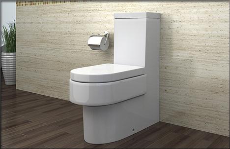 lux aqua stand wc mit nano beschichtu ng softclose a391 ebay. Black Bedroom Furniture Sets. Home Design Ideas