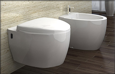 wand h nge wc toilette inkl nano beschichtung wc sitz soft close b2375 ebay. Black Bedroom Furniture Sets. Home Design Ideas