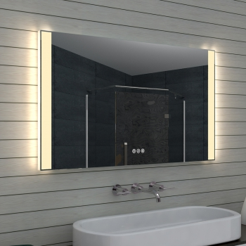Www Lux Aqua De Badezimmerspiegel Badspiegel Led Multifunktions