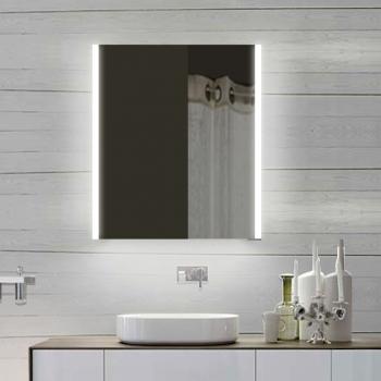 www.lux-aqua.de - Design Spiegelschrank mit Alu-Rahmen Badspiegel ... | {Design spiegelschrank 6}