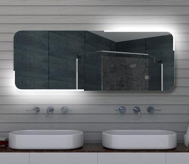 Design LED Badezimmerspiegel Badspiegel Lichtspiegel Wandspiegel 160x60 Cm  ML160