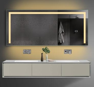 Design Badezimmerspiegel Led Beleuchtung In Warm/Kaltweiß Mit Steckdose  TSL160 70