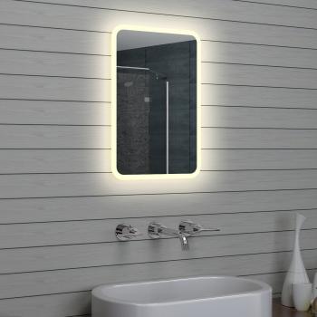 Attractive Design LED Badezimmerspiegel Badspiegel Wandspiegel Lichtspiegel 40x60cm  M1546