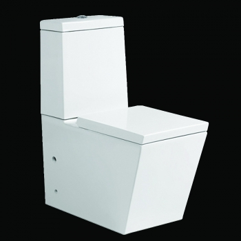 lux aqua stand wc toilette mit. Black Bedroom Furniture Sets. Home Design Ideas