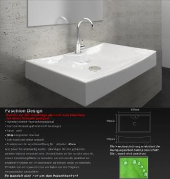 waschbecken mit nano beschichtung. Black Bedroom Furniture Sets. Home Design Ideas