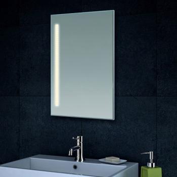 lux aqua badezimmerspiegel mit led beleuchtung in warm kaltwei w hlbar mt60 40dp. Black Bedroom Furniture Sets. Home Design Ideas