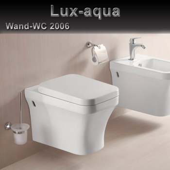 wandh ngende wc inkl sitz soft close aus duroplast 2006. Black Bedroom Furniture Sets. Home Design Ideas