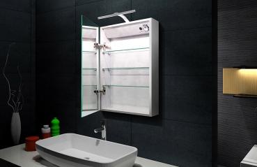 lux aqua alu badezimmer spiegelschrank