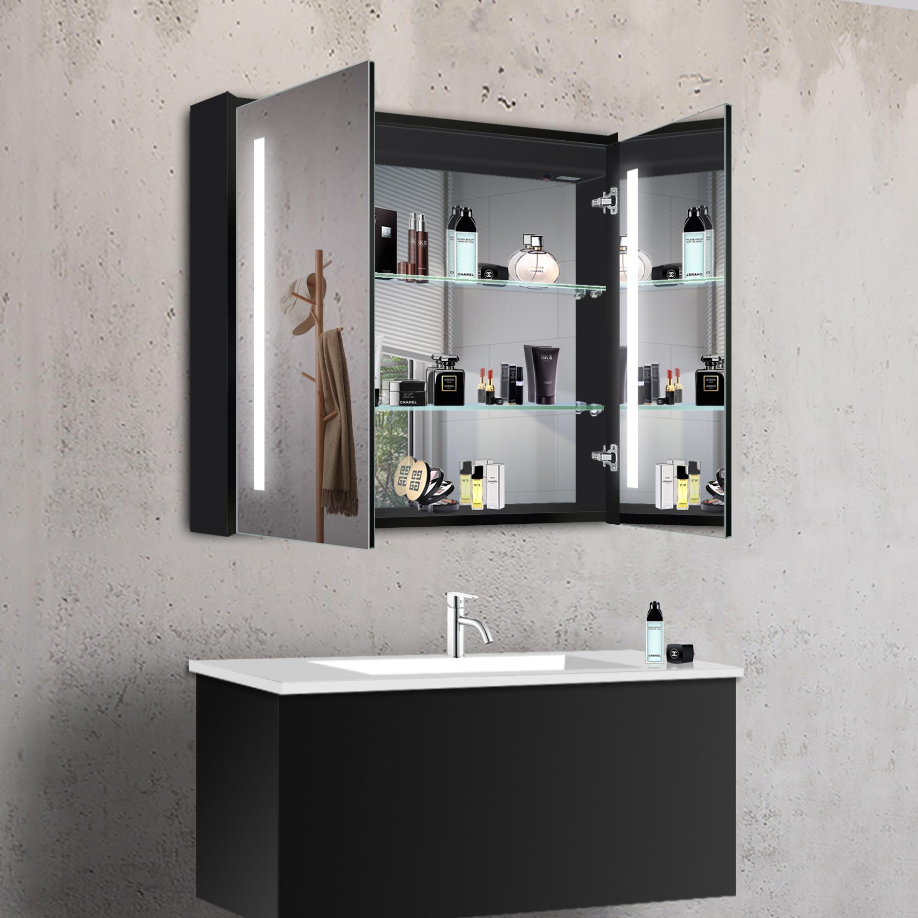 www.lux-aqua.de - Badezimmerspiegel Badspiegel Wandspiegel LED ...