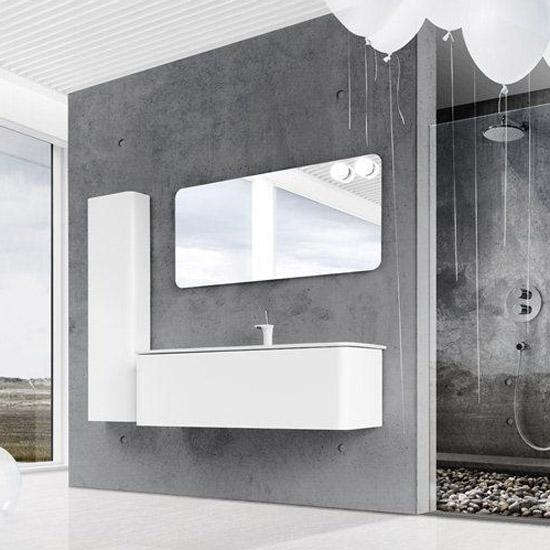 dansani exklusiv badm bel curvo mit. Black Bedroom Furniture Sets. Home Design Ideas