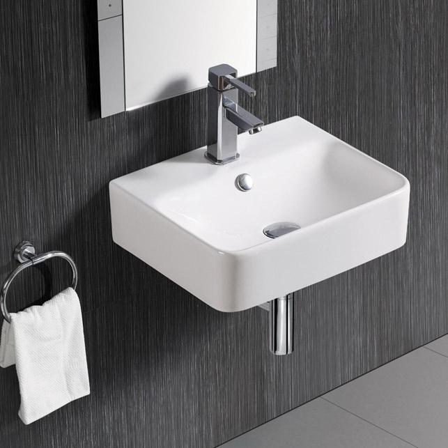 www.lux-aqua.de - Keramik Waschtisch Waschbecken Handwaschbecken zur ...