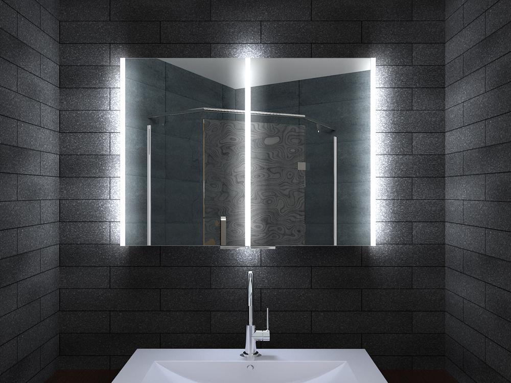 - Spiegelschrank bad 80 cm ...