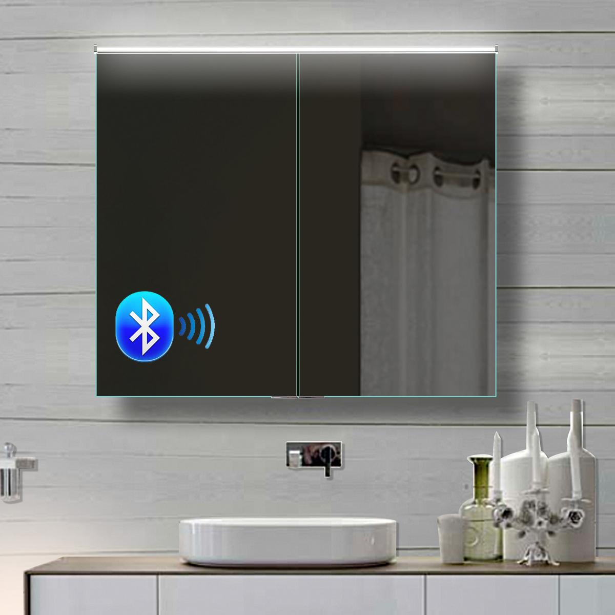 www.lux-aqua.de - alu badezimmer spiegelschrank led und bluetooth