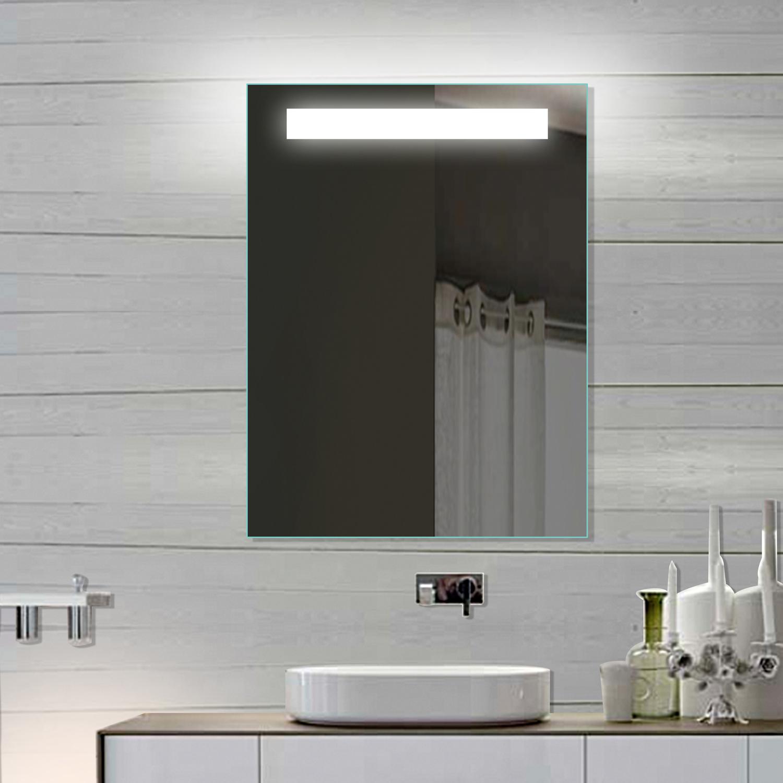 led badspiegel 60x80. Black Bedroom Furniture Sets. Home Design Ideas
