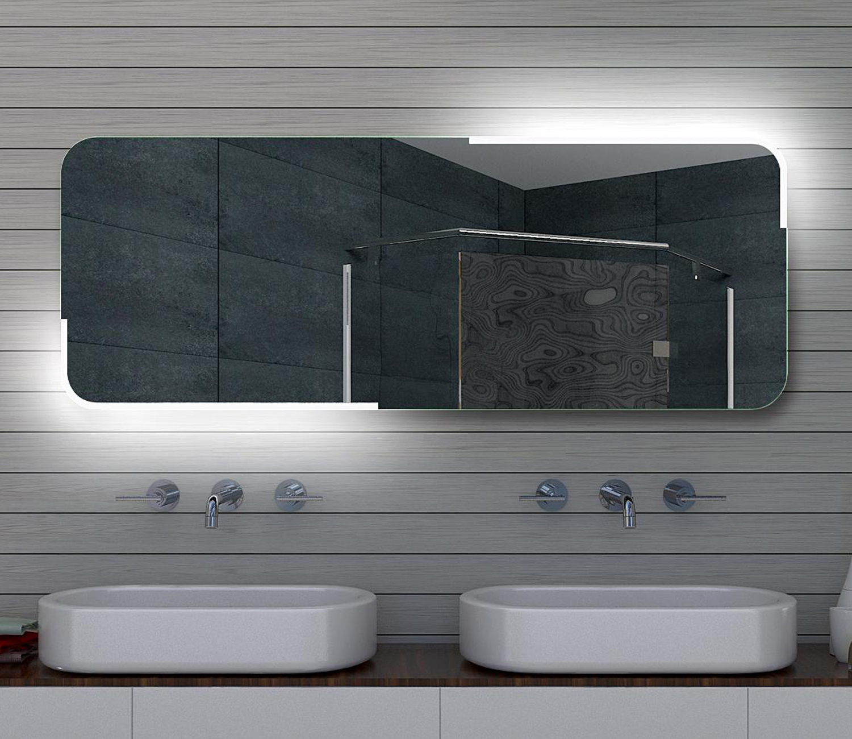 Www Lux Aqua De Design Led Badezimmerspiegel Badspiegel