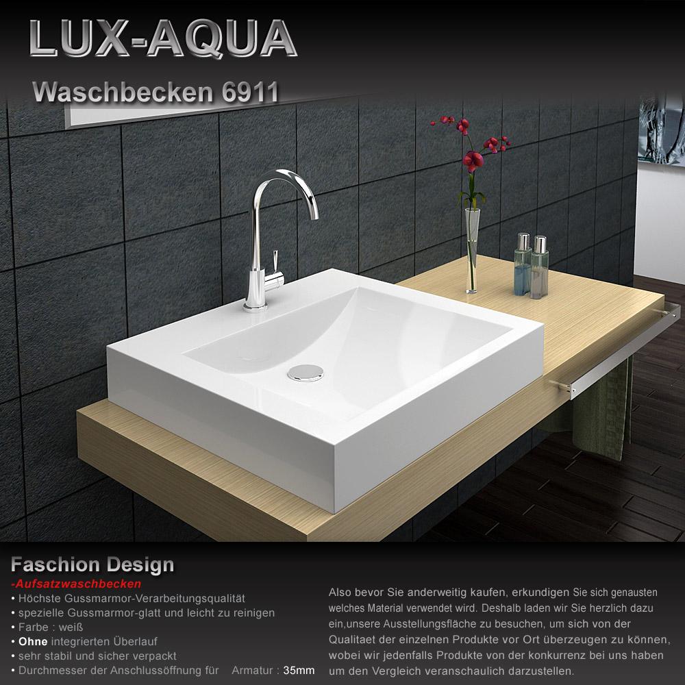 waschbecken gussmarmor 6911. Black Bedroom Furniture Sets. Home Design Ideas