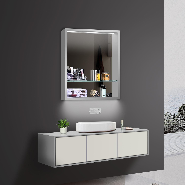 www.lux-aqua.de - design badezimmer spiegel spiegelschränke ... - Badezimmerspiegel Mit Led Beleuchtung