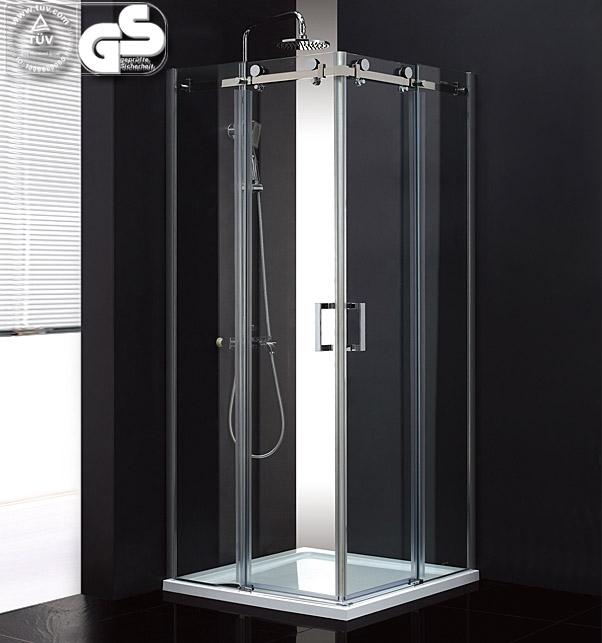 duschkabine duschabtrennung mit gleitt r neu msst409. Black Bedroom Furniture Sets. Home Design Ideas