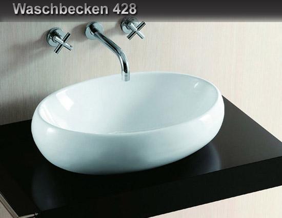 waschbecken keramik aufsatzbecken oval 428. Black Bedroom Furniture Sets. Home Design Ideas