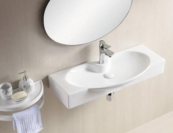 lux aqua design waschtisch handwaschbecken keramik 4282b. Black Bedroom Furniture Sets. Home Design Ideas